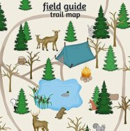 Woodland map for nursery