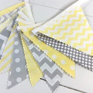 Fabric flag wall banner