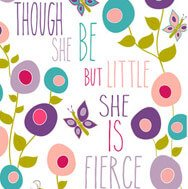 butterfly flower wall quote