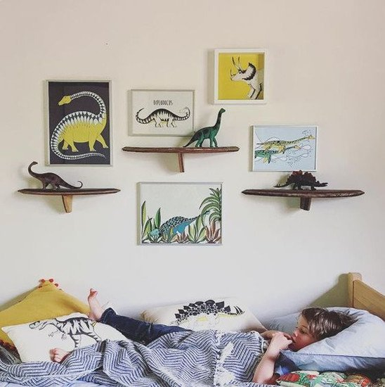 Dinosaurs theme boy room