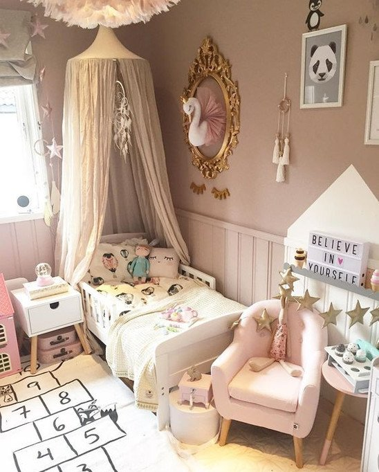 grown up bed magical decor girl room