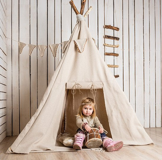 Cowboy/Indian Style Teepee