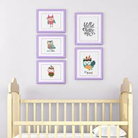 arranging wall art  sc 1 st  My Sleepy Monkey & Tips For Arranging And Spacing Wall Art