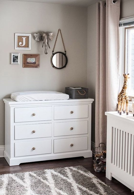 Dresser for baby changing table