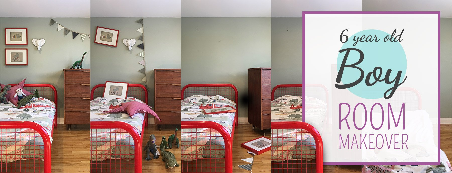 6 Year Old Boy Bedroom Makeover