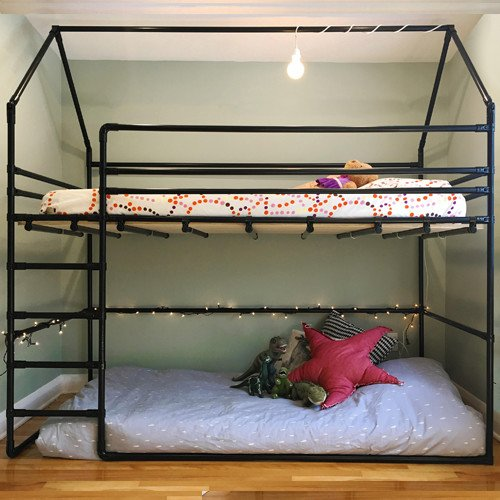 Bunk Bed With Toddler Floor Bed