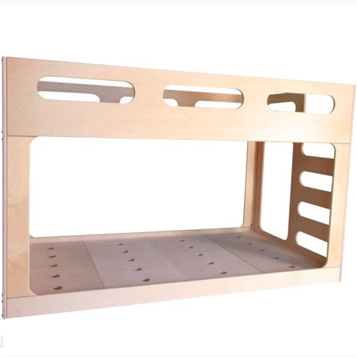 Low Twin Over Twin Bunk Bed