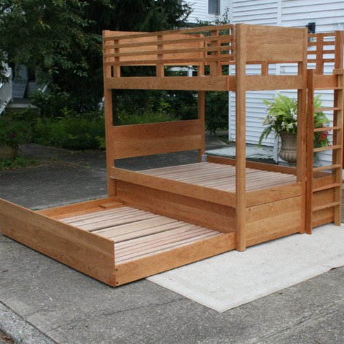 Solid Hardwood Bunk Bed