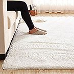 Super soft rug with plush and fluff