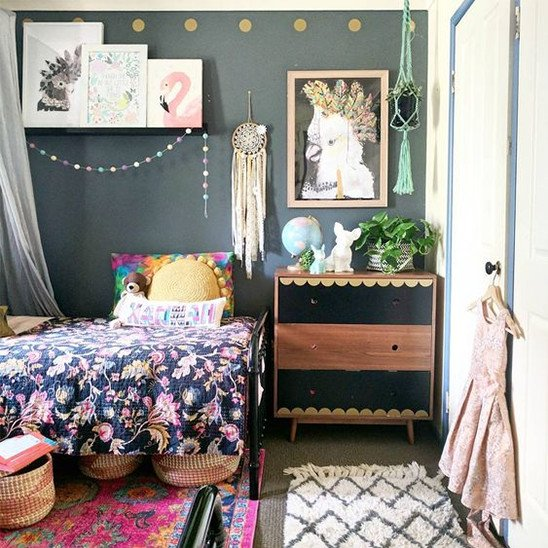 A Guide To Using Pinterest For Home Decor Ideas: Boho Room Decor: The 9 Must-Have Decor Elements For Your Kid's Room