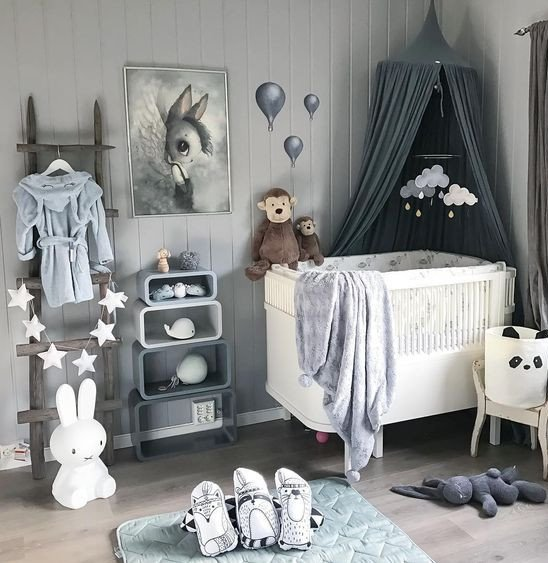 A Nest For Your Baby Boy Room Decor