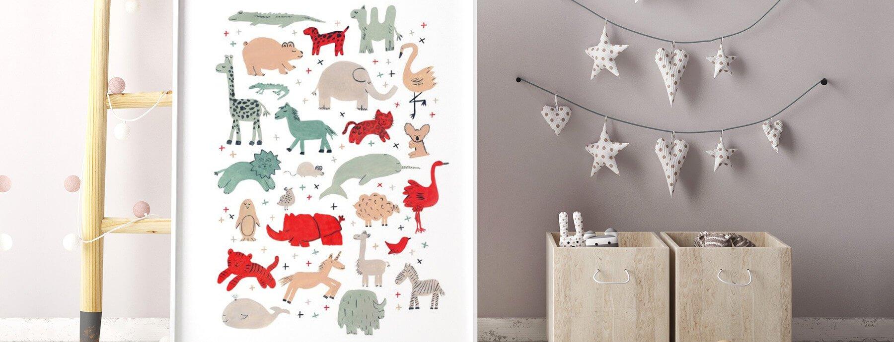 Animal Themed Nursery Décor
