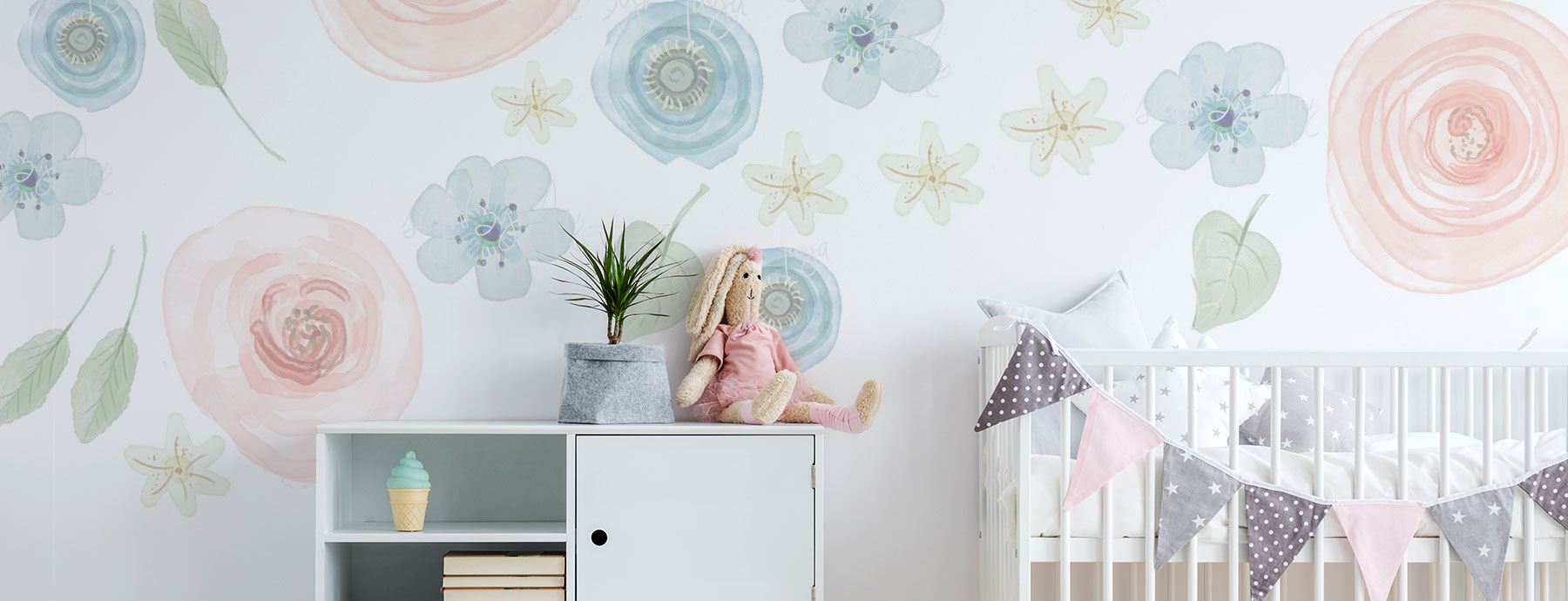 34 Of The Most Beautiful Flower Wall Decals For Your Kid S Room