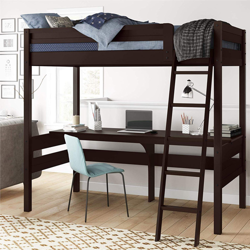 14 Kid Bunk Beds with Desk Underneath