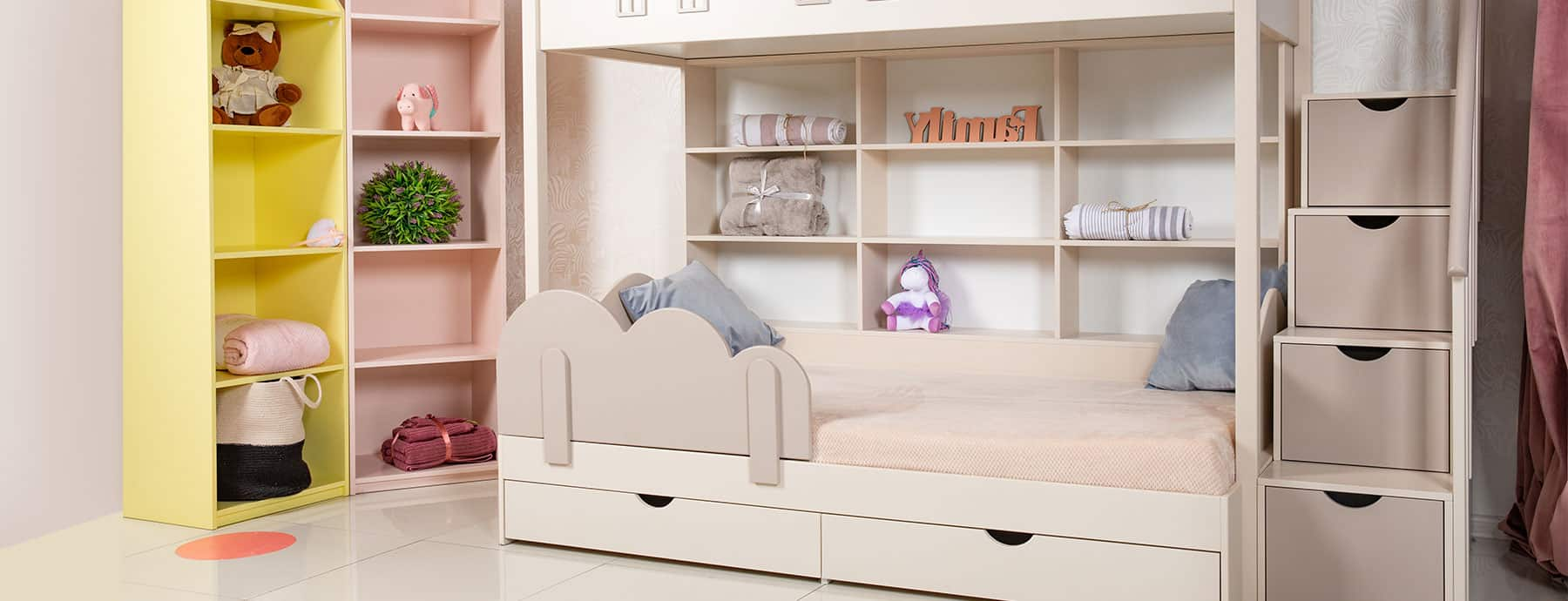 Picture of: The Best Bunk Bed With Drawer Steps Nursery Kid S Room Decor Ideas My Sleepy Monkey