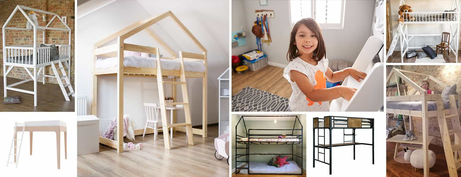 Picture of: 17 Best Loft Beds To Buy Loft Beds Buying Guide 2020 Nursery Kid S Room Decor Ideas My Sleepy Monkey