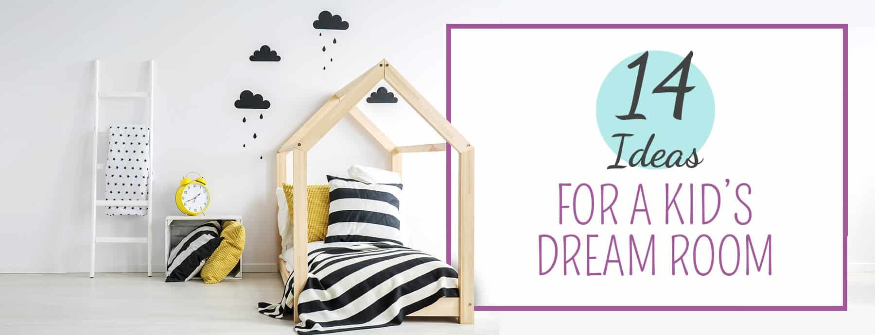 14 Ideas For A Dream Room You Wish You Had As A Kid Nursery Kid S Room Décor Ideas My Sleepy Monkey